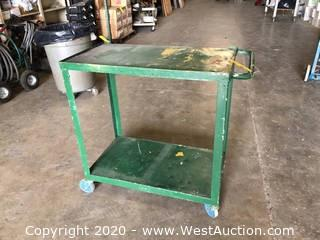 Metal 2 Level Utility Cart
