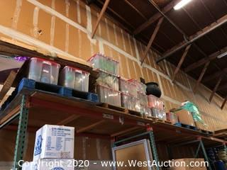 (5) Pallets of Assorted Holiday Decorations