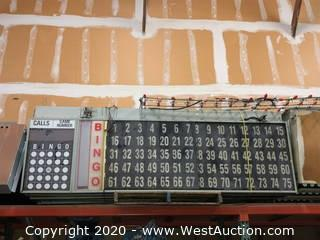Pallet of (4+) Lighted Bingo Score Boards