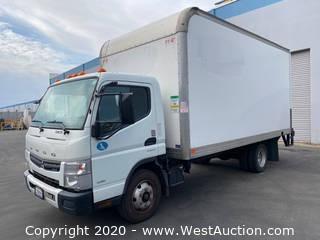2012 Mitsubishi FE160 16' Diesel Box Truck