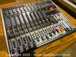 Behringer X1832USB 18 Channel Mixing Console