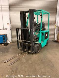 Mitsubishi 5000lb Electric Forklift with Charger