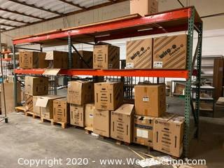 (2) Sections of 8' Pallet Racking (Racking Only)