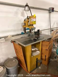 Challenge Paper Clamp/Punch
