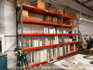 (2) Sections of 11' Pallet Racking