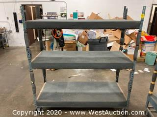 Metal Shelving Cart