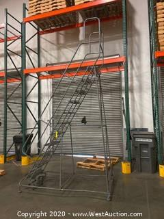Warehouse Platform Ladder
