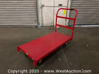 Metal Push Cart