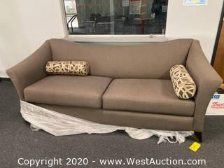 Taupe Couch/Sofa - Looks like New