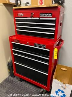 Craftsman Tool Cart With Contents
