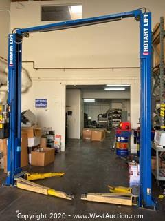Rotary 10,000lb Vehicle Lift