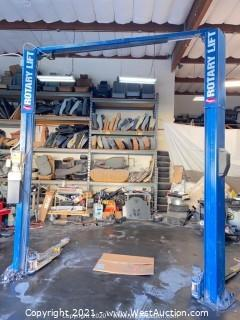 Rotary 7,000lb Vehicle Lift