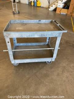 Plastic Rolling Shop Cart