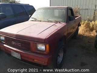 1993 GMC Sonoma Pick Up Truck