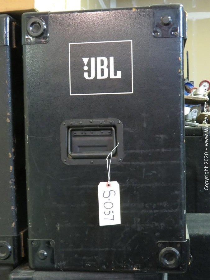 Event Production Surplus Auction of Speakers, Amplifiers, Road Cases, and More (Part 2)