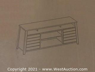 Hunter Flat Panel TV Stand (ZL8112-65S)