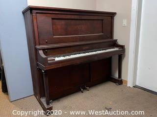 Gulbransen Dickinson Upright Piano