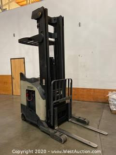 Crown Electric Standing Forklift