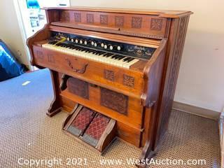 Bell Pump Organ Circa 1900-1902