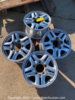 """(4) 17.5"""" JWL Wheel Rims"""