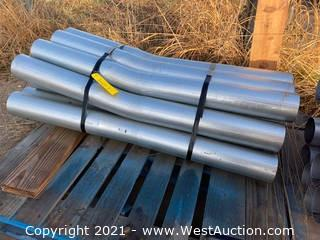 "Bundle of (12) 1/8"" Gauge Steel Conduit Pipe"