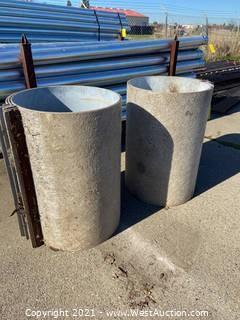 "(6) 24"" MFG Concrete Forms"