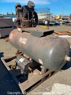 Air Compressor, Detached Motor & Various Parts