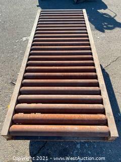 Mathews 6' Rolling Conveyor Section