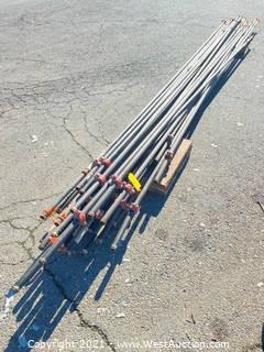 """Bundle of 1"""" Allied Dyna Thread M-Coat Sprinkler Piping 300psi & Numerous 1"""" Shurjoints"""