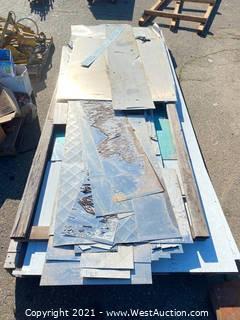 Pallet of Aluminum Sheeting & Composite Panels