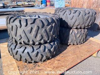 (4) Maxxis Bighorn ATV Radial Tires 29 x 11.00R14