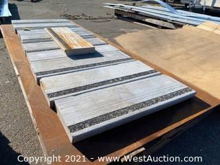 (10) Cement Stair Blocks