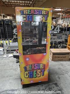Arcade Game: Treasure Chest Claw Machine