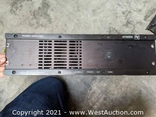 EV AP2600A Power Amplifier