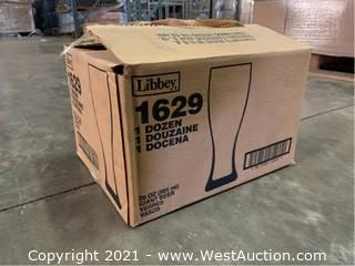 (1) Boxes Of (20) oz Giant Beer Glasses  (1629)