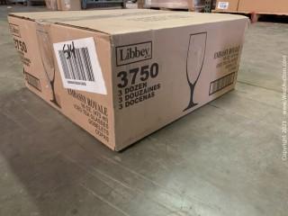(1) Boxes Of (16) oz Iced Tea Glasses  (3750)