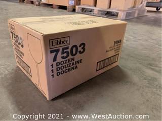 (1) Boxes Of (13.5) oz Balloon Glasses  (7503)