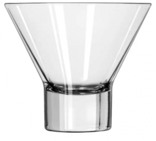 (1) Boxes Of (12) 7.6 oz V Cocktail Glasses  (11057822)