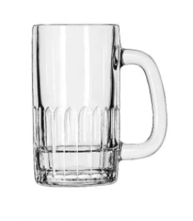 (1) Boxes Of (24) 12 oz Glass Mugs  (5309)
