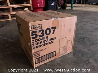 (1) Boxes Of (24) 8.5 oz Mugs  (5307)