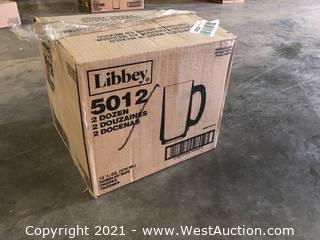 (1) Boxes Of (24) 12.5 oz Handled Mugs  (5012)