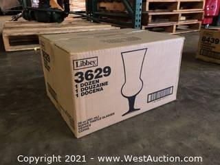 (5) Boxes Of (12) 20 oz Super Thistle Glasses  (3629)