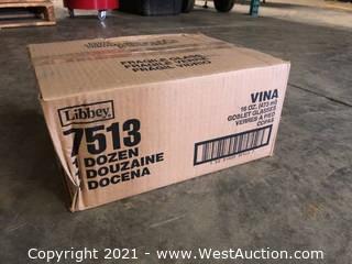 (2) Boxes Of (12) 16 oz Goblet Glasses  (7513)