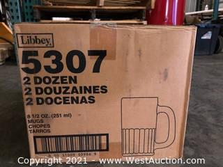 (4) Boxes Of (24) 8.5 oz Mugs  (5307)