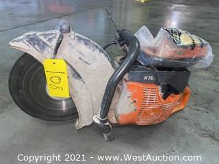 """Husqvarna K760 14"""" Gas Concrete Cutter"""