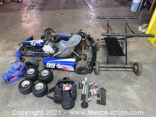 Go-Kart, Collapsing Lift, & Spare Parts/Accessories