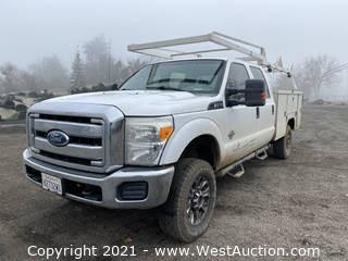 2011 Ford F-250 Diesel Utility Truck