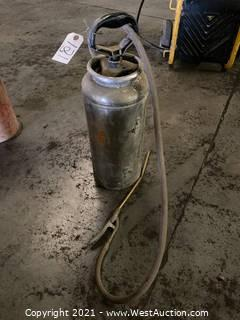 Portable Pump Sprayer