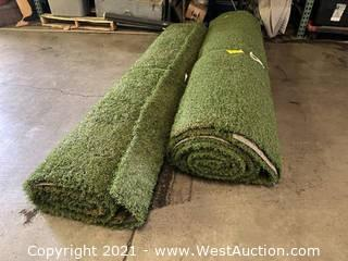 (2) Turf Mat Rolls