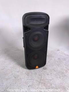 (2) Dual 3 Way Box Reflex Speakers
